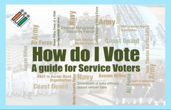 Info about how to Vote - Service Voters